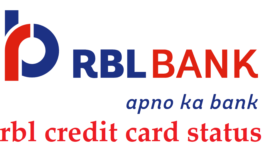 rbl credit card status